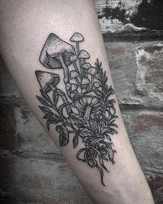 Wicked Tattoos, Dope Tattoos, Badass Tattoos, Body Art Tattoos, Unique Tattoos, Beautiful Tattoos, Tattos, Half Sleeve Tattoos Nature, Tattoos For Women Half Sleeve