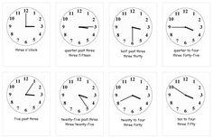 Angličtina pro děti a nejmenší online   Jazyky-online.info Clock, Education, Watch, Clocks, Onderwijs, Learning