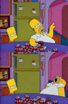Homer giving Bart advice Pokemon, Futurama, Mellow Yellow, The Simpsons, Memes, Bart Simpson, Mickey Mouse, Childhood, Family Guy