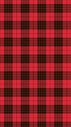Red And Black Plaid iPhone 6 / 6 Plus wallpaper