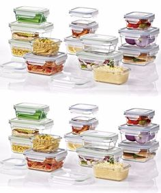 Glasslock Food Storage Container Sets Best Food Storage Containers 20655 Glasslock 24Piece Oven Safe Food Design Inspiration