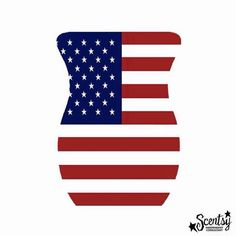 Happy Independence Day from Scentsy! My husband and I have both served. We love and support our military ❤️