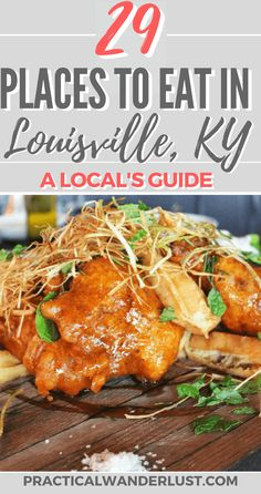 29 Amazing Places to Eat in Louisville: A Local's Guide - A local's foodie guide to Louisville, Kentucky USA! The best brunch, lunch, dinner, dessert and c - Kentucky Food, Louisville Kentucky, Kentucky Derby, Bloomington Indiana, Indianapolis Indiana, Cincinnati, Weekend Humor, Weekend Quotes, Friday Weekend