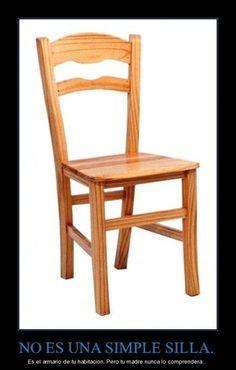 No es solo una silla