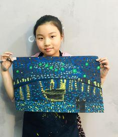 빈 센트 반 고흐[킨더 (초등) 수업 / 시흥시 정왕동 배곧 미술학원 - 창의미술 크리아트 ] : 네이버 블로그 Van Gogh, Painting For Kids, Art For Kids, Mickey Mouse Kunst, Summer Classes, Art Lessons Elementary, Art Lesson Plans, Famous Artists, Art Projects