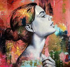 Classic streetart Norway, Original Paintings, Portrait, Classic, Creative, Artwork, Animals, Derby, Work Of Art