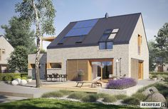 Two energy-efficient homes that are simply stunning Energy Efficient Homes, Energy Efficiency, Less Is More, Home Projects, Farmhouse, Exterior, House Styles, Outdoor Decor, Home Decor