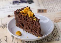 Gesztenyés csokoládé trüffel torta házi törökmézzel - www.kiskegyed.hu