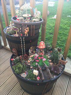My very first fairy garden