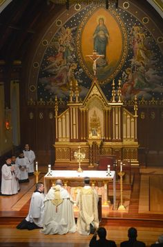Photos from a Eucharistic Procession on the grounds of Seton Hall University, organized by seminarians of Immaculate Conception Seminary
