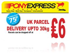 Parcel Delivery Parcel Delivery, Pony Express