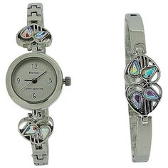 Henley Rennie Mackintosh Crystal AB Ladies Watch & Jewellery Set RMB-1.10