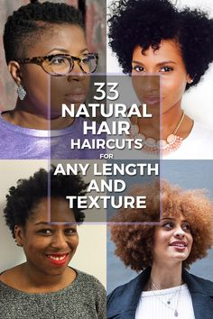 The possibilities of styling are limitless when it comes to natural hair. Whether your curls are loose and wavy or tight and coiled, experimenting with different looks is a huge part of embracing your natural hair texture. Check out the 33 haircuts that'll have you looking fierce!
