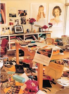 Sofia Coppola's room