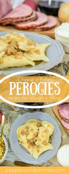 Perogies from scratch, just like Baba makes. These perogies are delicious boiled… Perogies from scratch, just like Baba makes. These perogies are delicious boiled or pan fried and make an excellent addition to your Thanksgiving dinner. Potato And Cheese Perogies Recipe, Potato Soup, Appetizer Recipes, Dinner Recipes, Tapas Recipes, Soup Appetizers, Yummy Recipes, Dinner Ideas, Diets