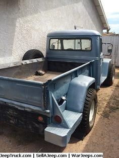 Used Jeeps and Jeep Parts For Sale - 1956 Willys pickup