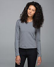 LULULEMON Back Up Long Sleeve