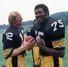 Terry and Mean Joe.  Steelers