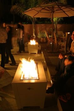 Deigo Fire Feature modern firepits