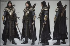 Elder Scrolls Online - Breton - character turntable, Alessandro Baldasseroni on ArtStation at https://www.artstation.com/artwork/l6Y