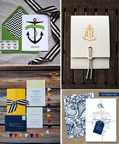 graphic and poppy nautical design