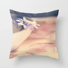 Sweet memory  Throw Pillow by Katherine Song  - $20.00
