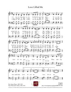 Love Lifted Me - Hymnary.org