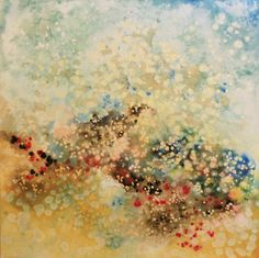 Abstract landscape | acrylic and ink | artist: kylie lakevold