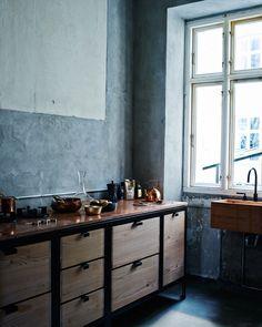 Copenhagen Apartment // Designer: Niels Strøyer Christophersen, Photography: Ditte Isager, Styling: Nathalie Schwer, Source: Kinfolk