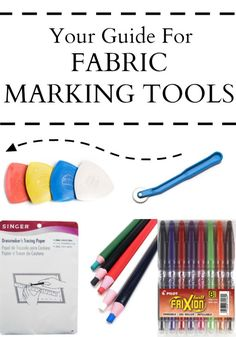 Fabric Marking Tools - Simple Simon and Company