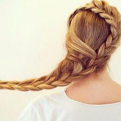 Long Braided Hair | Braided Hairstyles | French Braid