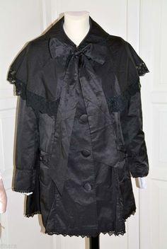 Japanese fashion gal style cute spring summer, gothic lolita coat Fashion Gal, Korean Ulzzang, Ulzzang Fashion, Gothic Lolita, Japanese Fashion, My Wardrobe, New Outfits, Raincoat, Spring Summer