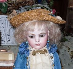 Antique French Bisque Dolls  Very Fragile, Very Beautiful!
