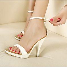 Ultra-High Heel Sandals