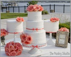 A Southern Wedding Celebrated at The Rockefeller Gardens in Ormond Beach  By: The Pastry Studio  I love the set up!