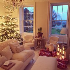 a country home - christmas with charlotte anne fidler in england - MY FRENCH COUNTRY HOME