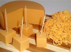 Vegan Cheese, Vegan Smoked Cheddar