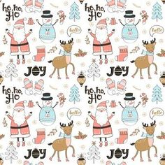 Seamless pattern of christmas and new year elements. Wallpaper Hipster, Xmas Wallpaper, Christmas Phone Wallpaper, Iphone Wallpaper, Christmas Mood, Merry Christmas And Happy New Year, Christmas Backrounds, Harry Styles Drawing, Clay Christmas Decorations