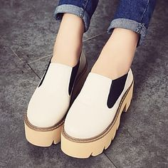 Women's+Shoes+Fashion+New+Platform+Comfort+Round+Toe+All+Match+Loafers+–+USD+$+27.99