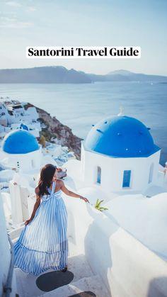 Santorini Travel, Greece Travel, Santorini Greece Vacation, Greece Honeymoon, Greece Trip, Visit Greece, Mykonos Greece, Travel Europe, Beautiful Places To Travel