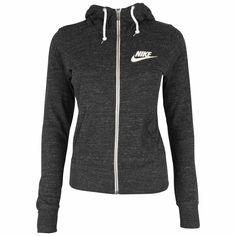 Køb Nike Gym Vintage Hættetrøje - Dame i Sort online str. L/40