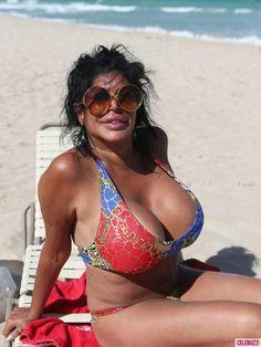 Bikini-Clad Mob Wives Star Big Ang Struts Her Stuff in Miami