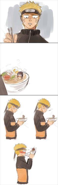 Naruto - Naruto and Hinata - Ramen