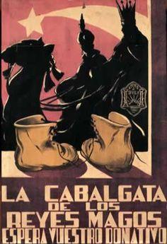 Carteles Anunciadores de la Cabalgata de Reyes de Sevilla