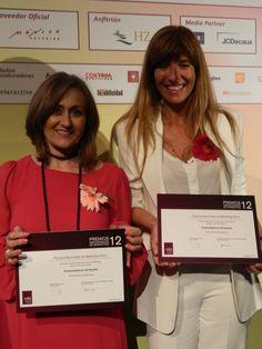 La Asociación de Marketing de España (MKT) entregó su premio principal de 2012 a los EMPRENDEDORES DE ESPAÑA, un premio colectivo que eligió a Carmen Mª García (Fundación Woman's Week) y a Carmen Carcelem (miembro del Consejo Asesor) entre las escasas emprendedoras representantes del emprendimiento social dentro del colectivo en estos premios entregados en el Hipódromo de la Zarzuela en Madrid.