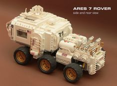 Ares 7 Rover - side/rear view