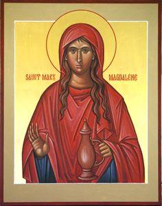 IcSMaryMagd3 - Orthodox St. Mary Magdalene Icon