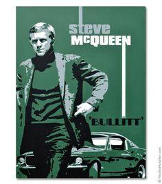 Nicolas Hunziker Newsletter – Steve McQueen as 'Bullitt' Video Steve Mcqueen Bullitt, Actor Steve Mcqueen, Steve Mcqueen Style, Films Cinema, Cinema Posters, Film Posters, Steve Mcqueen Quotes, Bicicletas Raleigh, Steeve Mcqueen