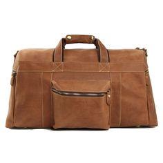 ROCKCOW Super Large Leater Overnight Bag Duffle Bag Laptop Weekend Bag  Men s Travel Bag 1098 ff4af69b1e161