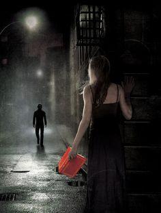 Cover Artist Shane Rebenschied - the vampire stalker by allison van diepen
